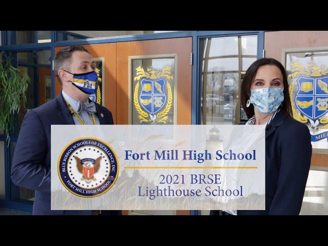 Fort Mill High Earns National Lighthouse Award