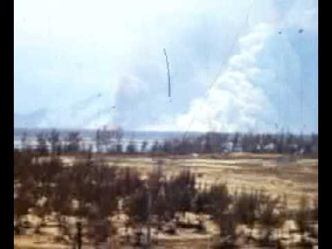 OV-1 Mohawk Danang Ammo Dump goes Up in Smoke
