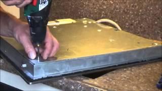 verwisselen kookzone Bosch Ceran keramische kookplaat