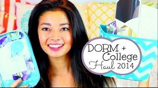 Dorm + College Haul 2014!! Thumbnail