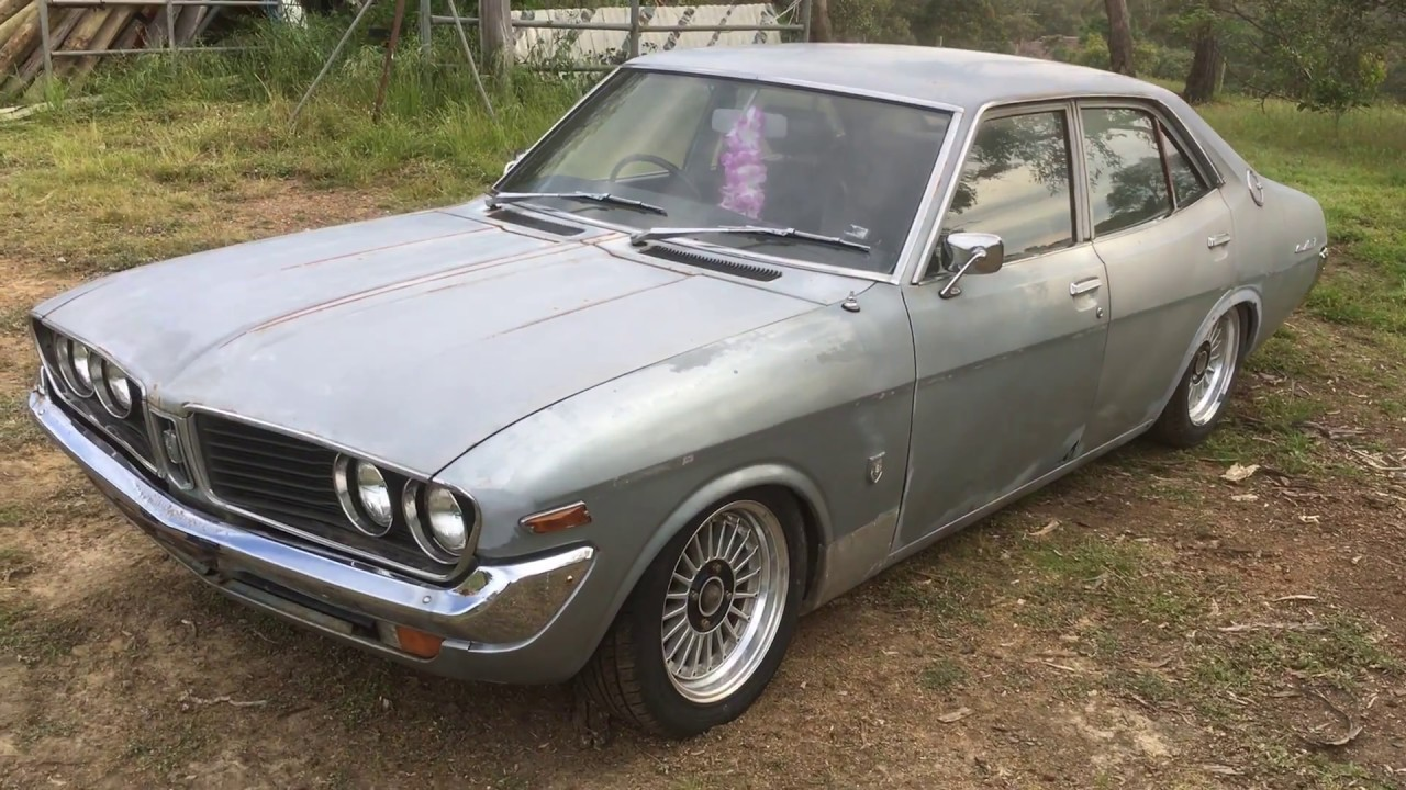 1974 Toyota Corona Mark II - YouTube