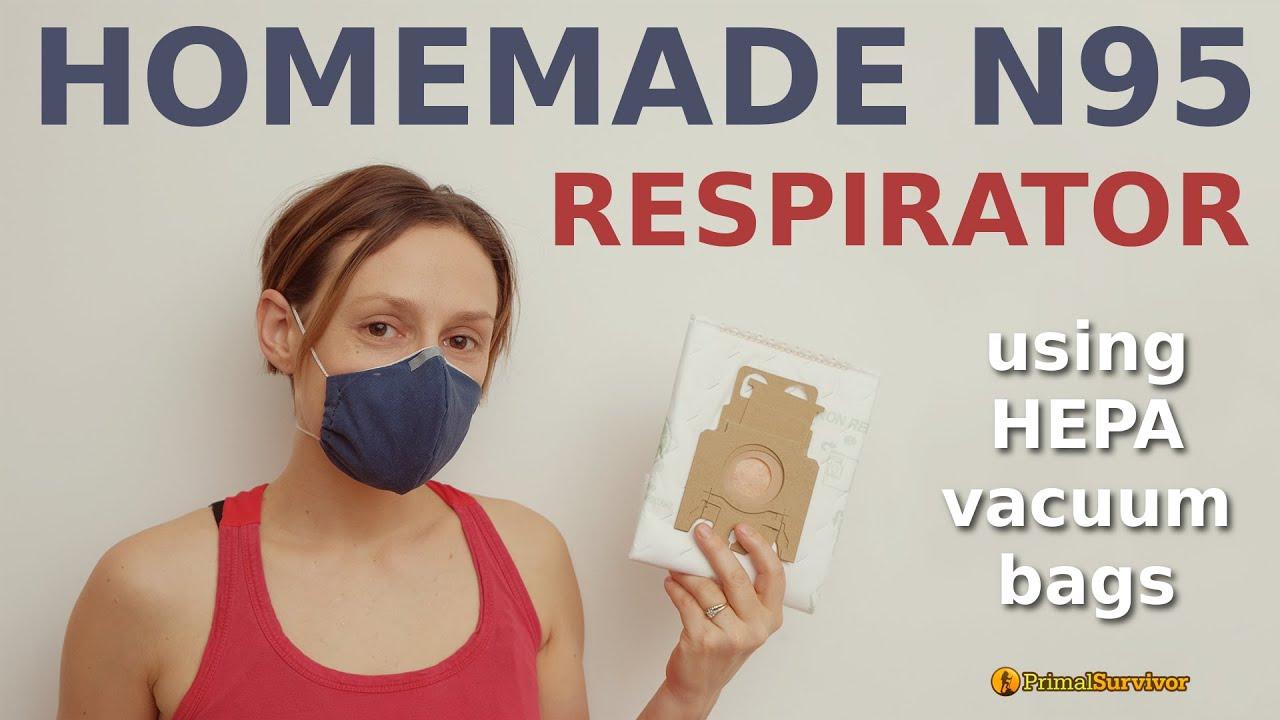 Homemade Vacuum Bag Face Mask - YouTube