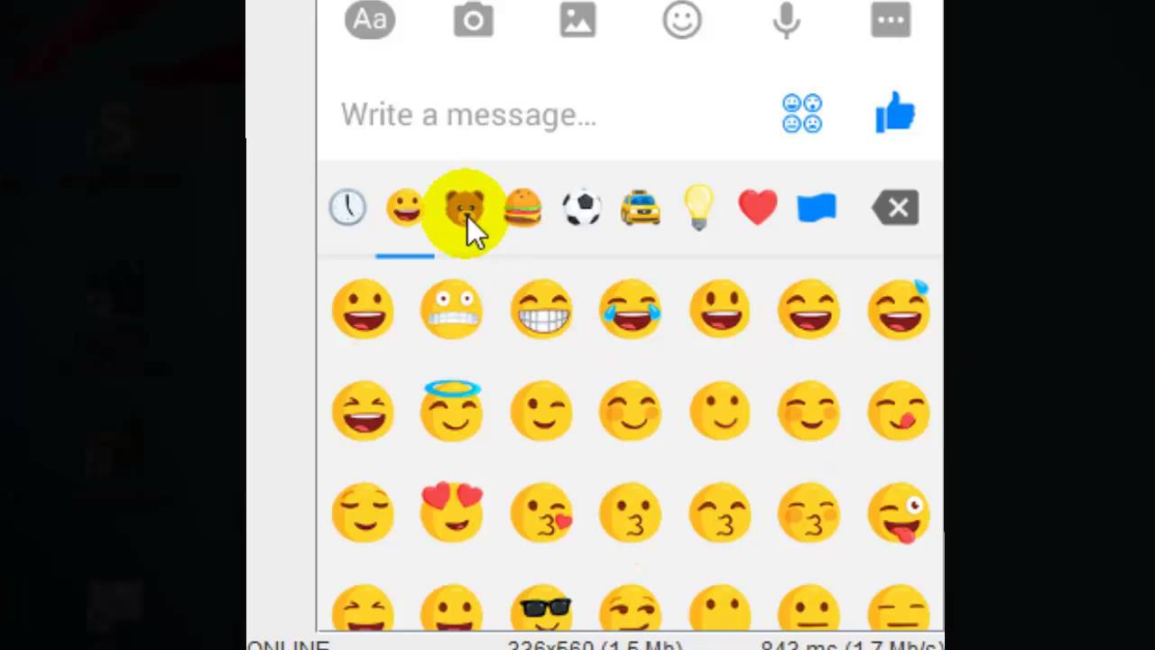 Emoticons in facebook messenger android app youtube emoticons in facebook messenger android app biocorpaavc