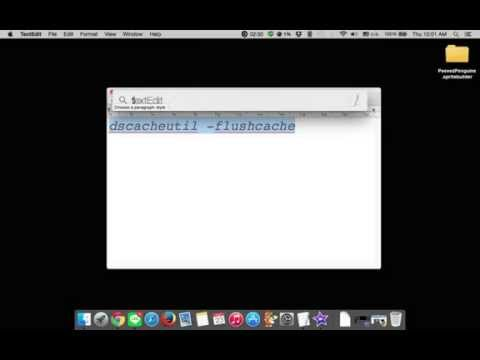 How To Clear DNS Cache In Mac OSX 10.10 Yosemite