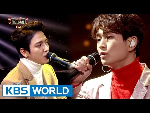 ONEW(SHINee) & Jung Yonhwah(CNBLUE) - Exhausted [2016 KBS Song Festival / 2017.01.01]
