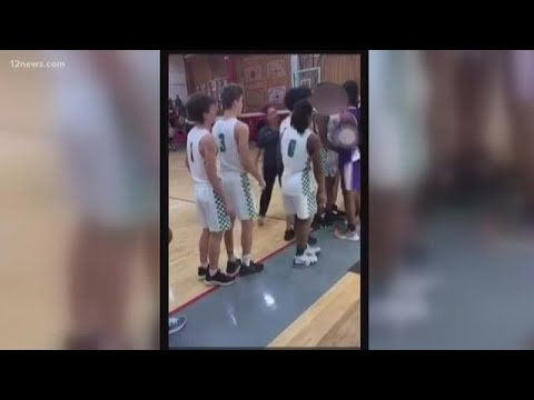 'Basket-brawl' Schools Punished After Fight Between Players Caught On Camera