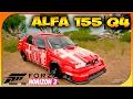 ALFA 155 Q4!!! DIOOS COMO SUENA!!! | FORZA HORIZON 3 #49 | DEWRON