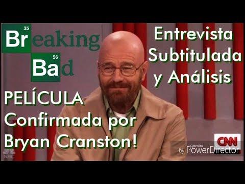 🎬 Bryan Cranston habla película BREAKING BAD! (Entrevista Subtitulada y Análisis)