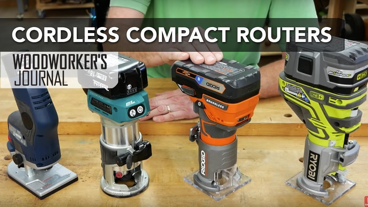 cordless compact routers | tool overview