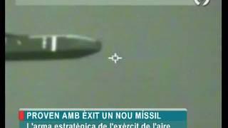 Ejercito del Aire - Pruebas de su nuevo misil