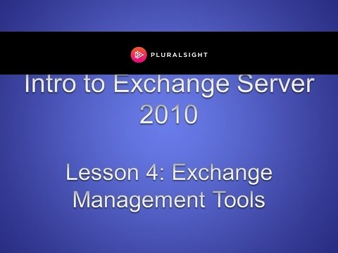 Exchange Management Tools (EMC and EMS)