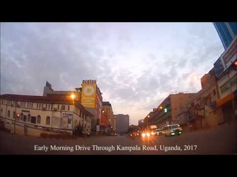 Early morning drive through Kampala road, Uganda, 2017.