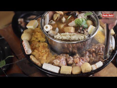 Kenyang Gila Makan Steamboat & Seafood Lambak Di VIP Container