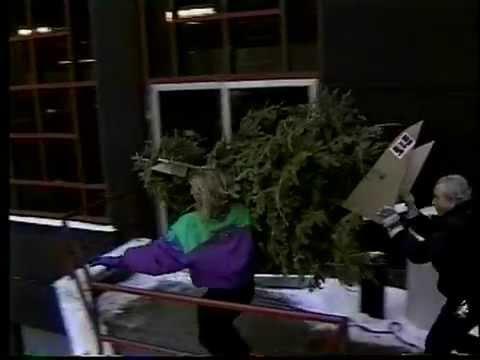 Steve Anthony: Christmas Tree Toss 1993 (MuchMusic, January 11, 1993)