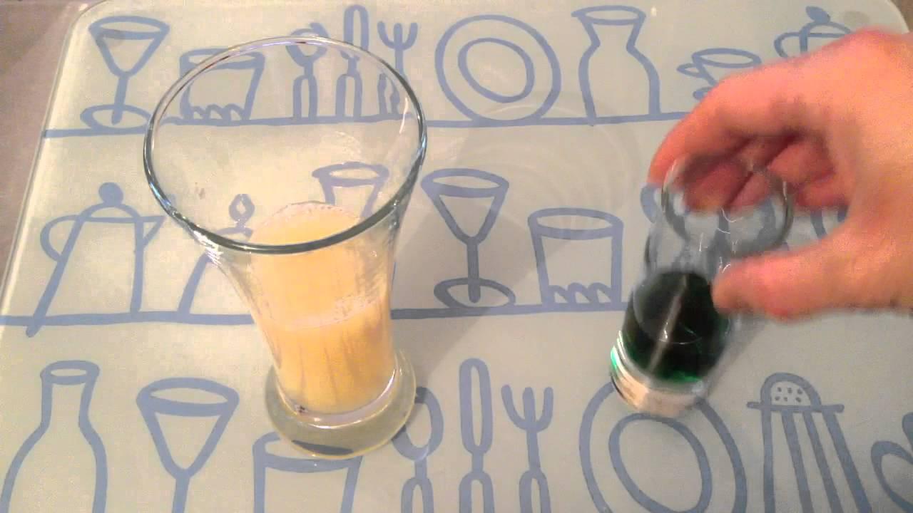 Faire Un Cocktail Lotus Bleu Recette Cocktail Sans Alcool Youtube