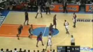 2001 NBA Playoffs: Toronto Raptors @ New York Knicks Game 5 4th Quarter Part 2