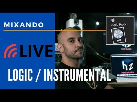 Live #Mixagem ao Vivo EP 2 #Logic Pro X + Instrumental Experimental