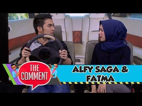 Cuman di The Comment Alfy Saga dan Fatma Live Sketsa Cinta