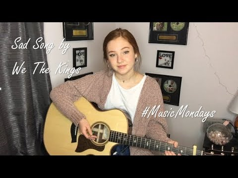 Sad Song - We The Kings (Cover by Amanda Nolan)
