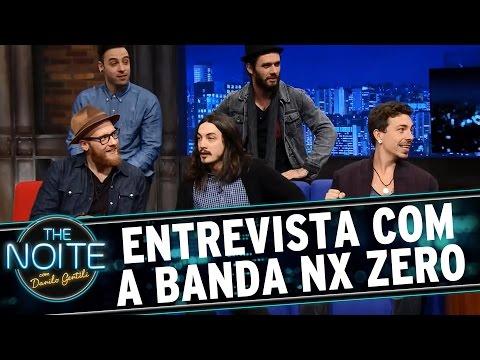 The Noite (04/09/15) - Entrevista Com NX Zero