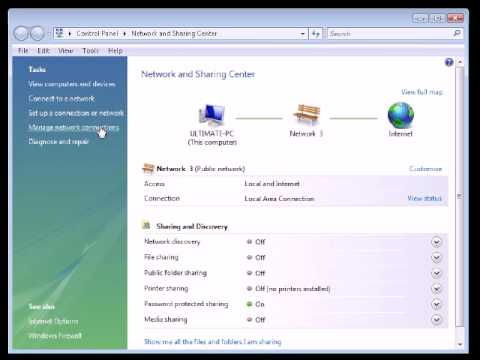 Microsoft Windows Vista Cannot Find Any Additional Wireless Networks - Detailed Tutorial