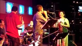 Mayito El Sonero with Leticia Rodriguez - Improvisation at Iron Cactus Austin Texas 3/18/2016