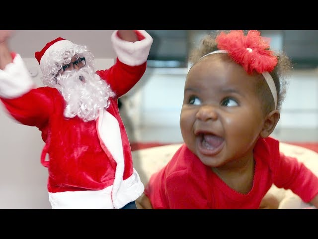 New Father Chronicles - Interview With a 7-Month-Old and Santa Claus