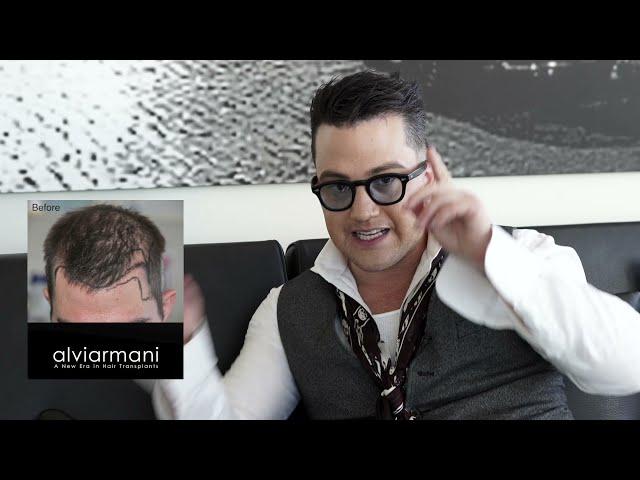 Alvi Armani  - The World Leader in Natural Hairline Design
