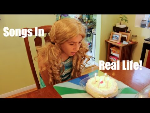 Songs in Real Life: Littlebu's 4th Birthday (Introducing Daddybu)