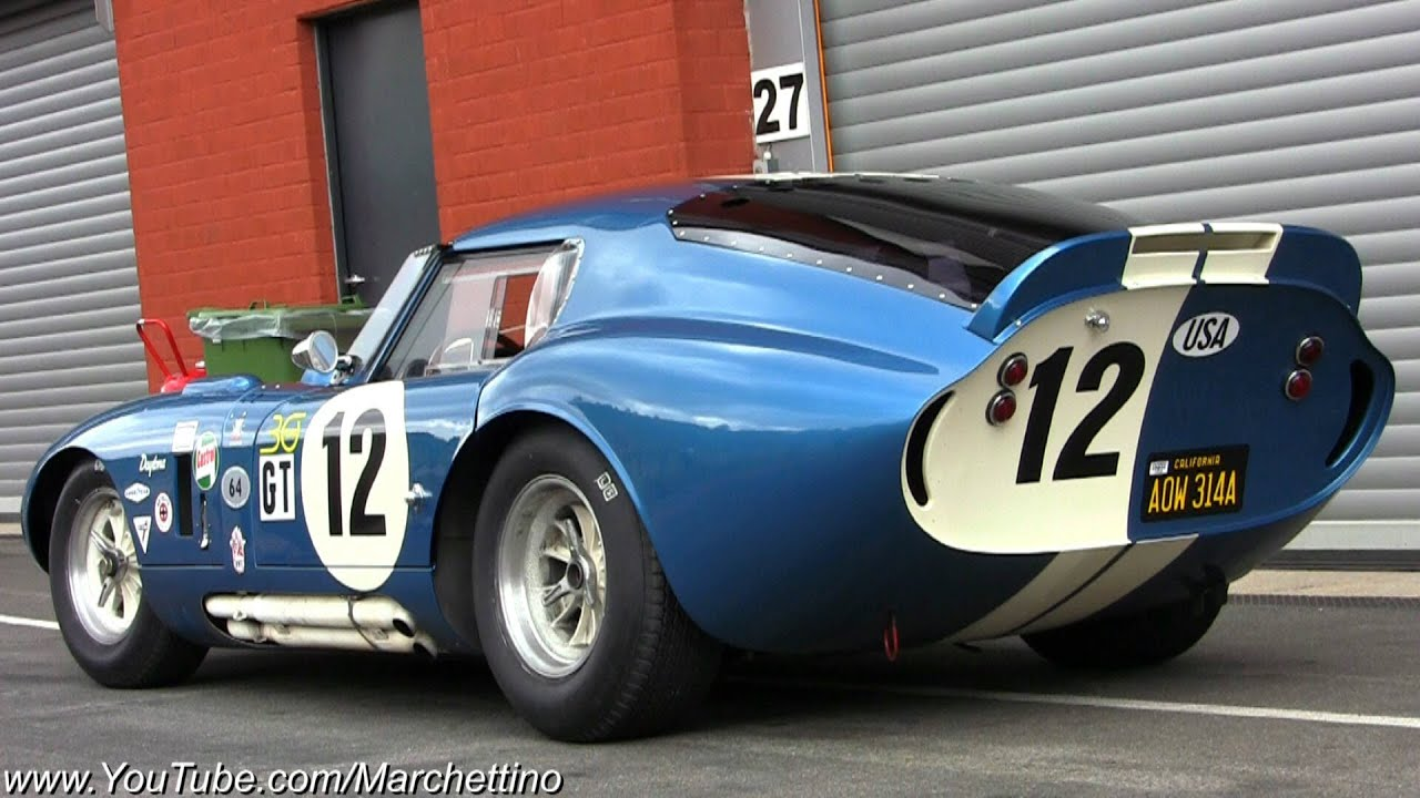 7 0m Shelby Daytona Cobra Great Sound Youtube