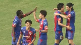 味方選手のラストパスを冷静に流し込んだ橋本 拳人(FC東京)が同試合で...