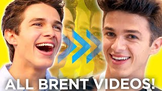 Evolution of BRENT RIVERA -  BEST VIDEOS from 2015 - NOW