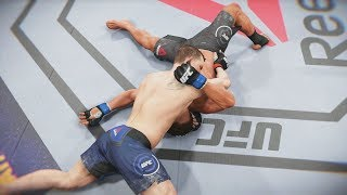 UFC 3 GOAT Career Mode - Submission Nightmare! EA Sports UFC 3 Gameplay PS4