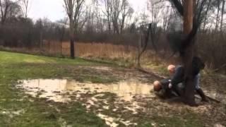 Geauga County Ohio Game Warden, Scott Denamen, & Tom Horvath Save Deer
