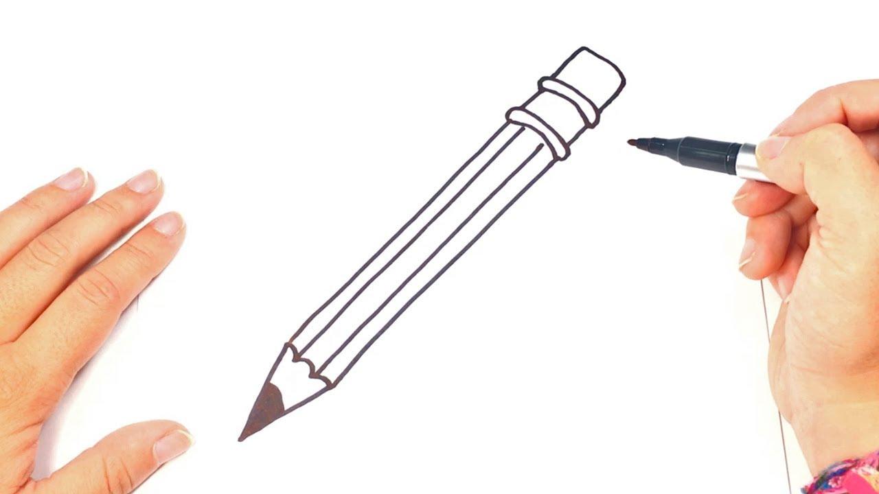 Como Dibujar Un Lápiz Paso A Paso Dibujo Facil De Lápiz Youtube