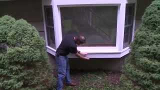 Insulating A Bay Window Sill