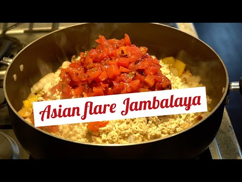 Jambalaya with an Asian Flare | JennyandChi Cooks