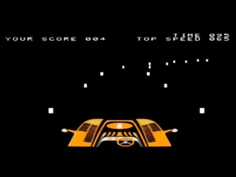 Night Driver Arcade Atari 1976 Youtube