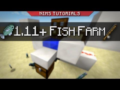 Minecraft: Tutorial | 1.11+ AFK Fish Farm
