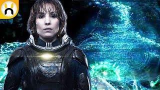 Alien Covenant: Elizabeth Shaw Hologram Deleted Scene - Explained