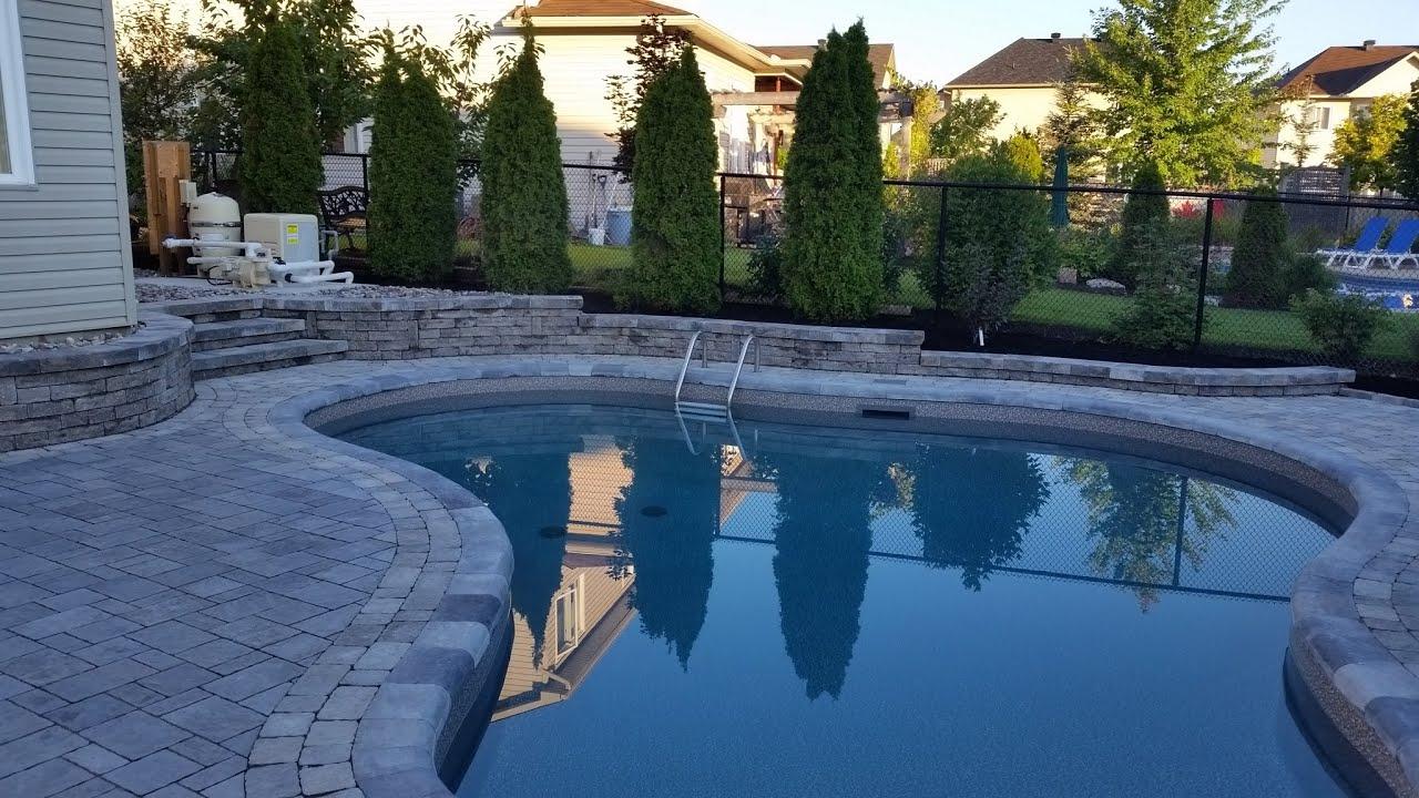 Ottawa swimming pool interlock landscaping 3d designs for Pool design ottawa