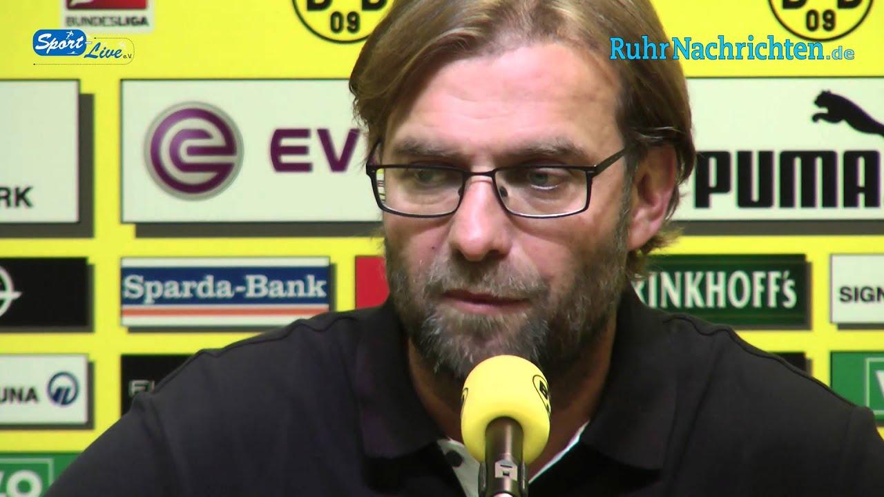 BVB Pressekonferenz vom 27. September 2012 vor dem Spiel Borussia Dortmund gegen Borussia Mönchengladbach