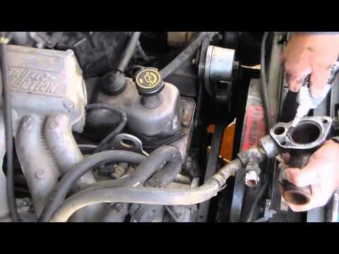 Thermostat Replacement On 2000 Ford F 150 Pickup Funnycat Tv