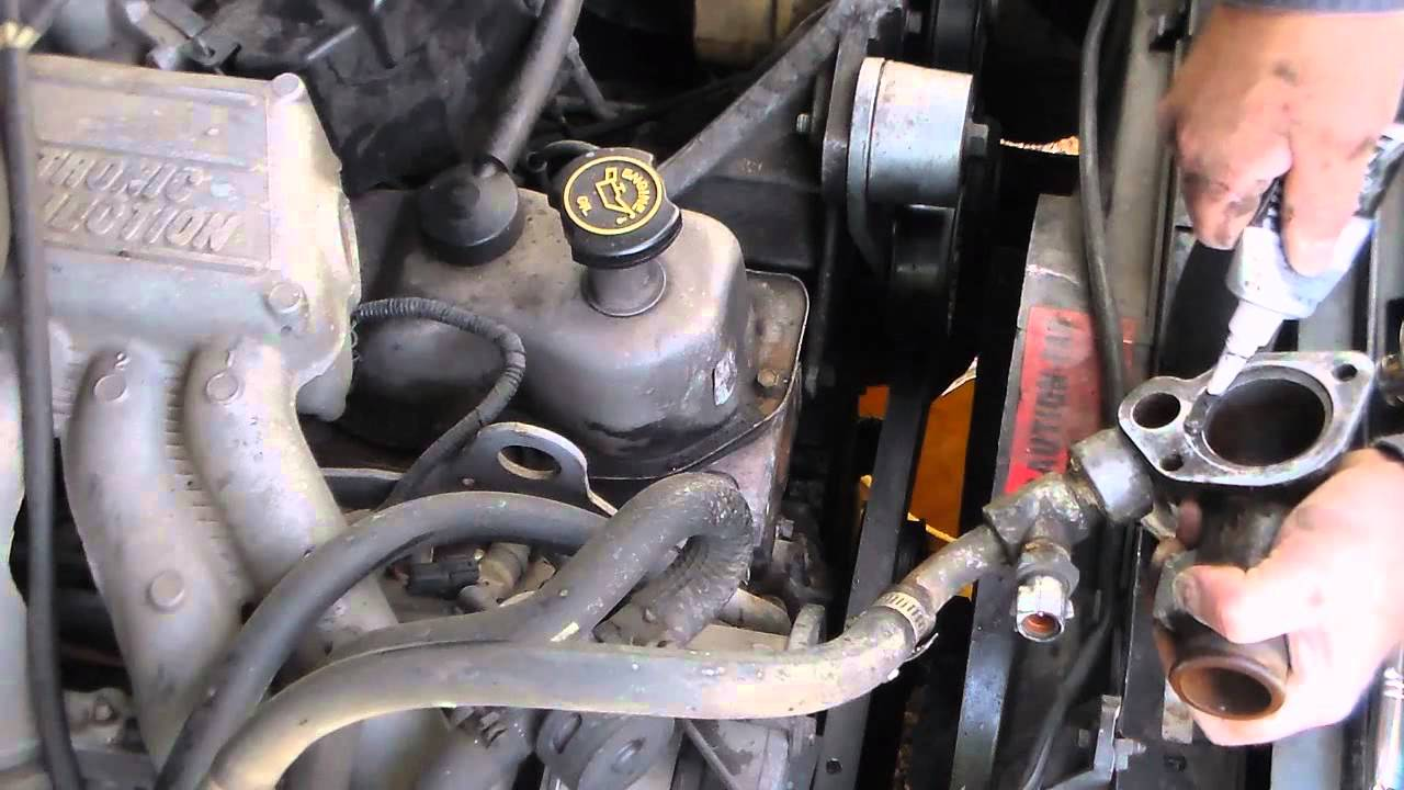 Blue F150 Thermostat Replacement Heating Issues Youtube
