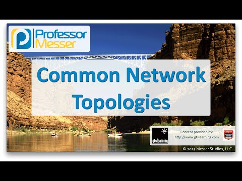 Common Network Topologies - CompTIA Network+ N10-006 - 1.6