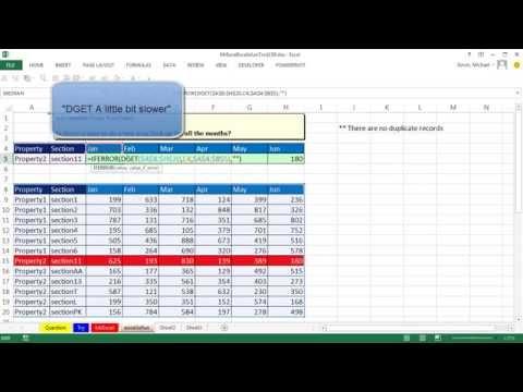 Mr Excel & excelisfun Trick 159: Three Way Lookup: SUMIFS or DGET?