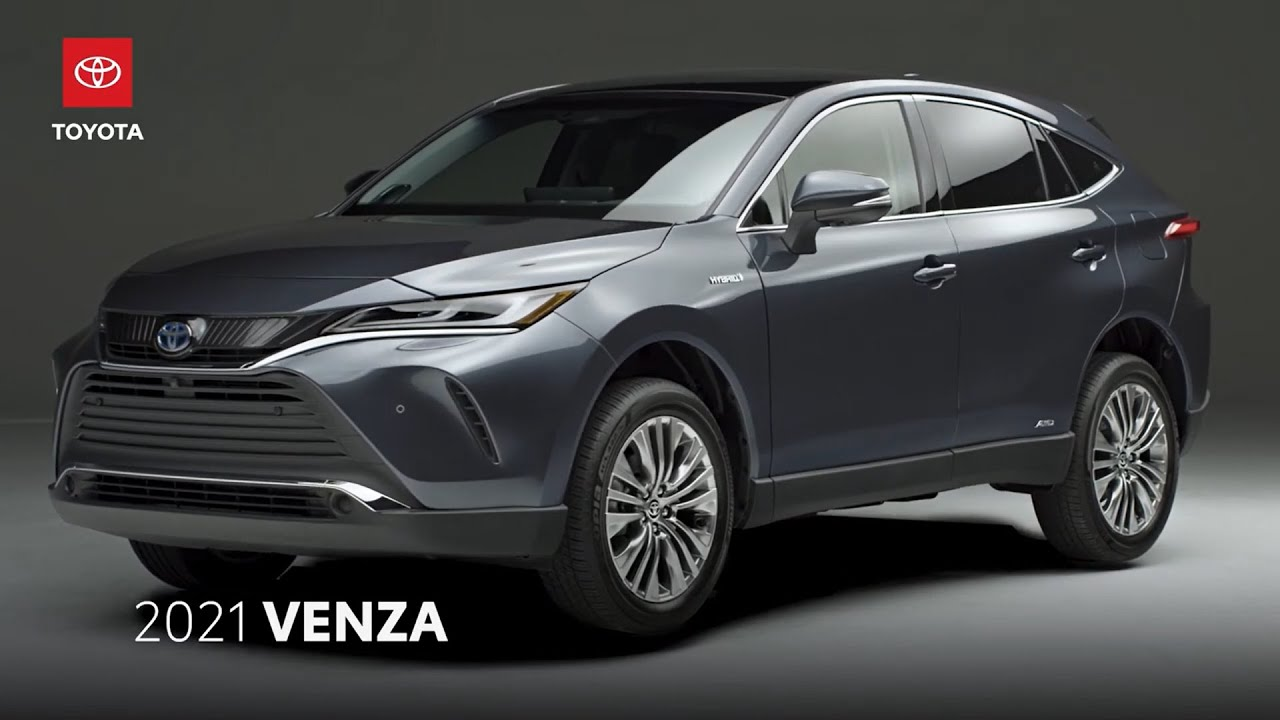 The New 2021 Toyota VENZA - Ultimate Hybrid SUV - YouTube