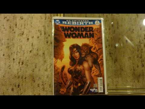 My Wonder Woman comics collection