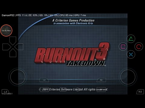 Burnout 3 - Takedown Damon Ps2 Pro Android