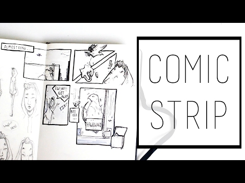 Creating a Comic Strip · 30 Ways to Fill a Sketchbook · SemiSkimmedMin